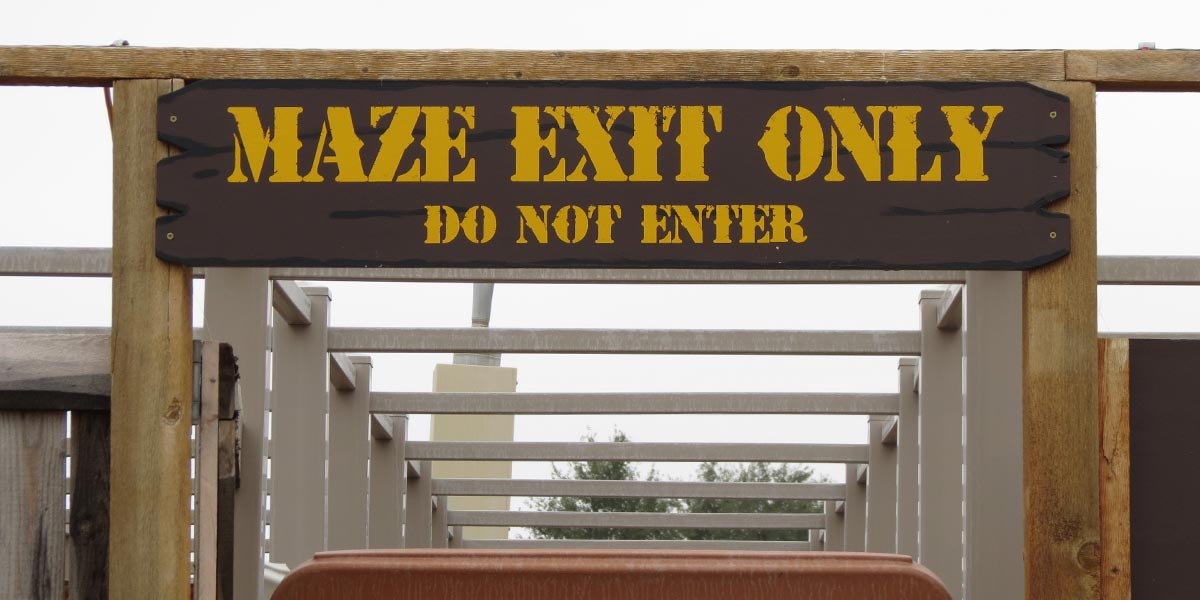 old-miners-maze-exit